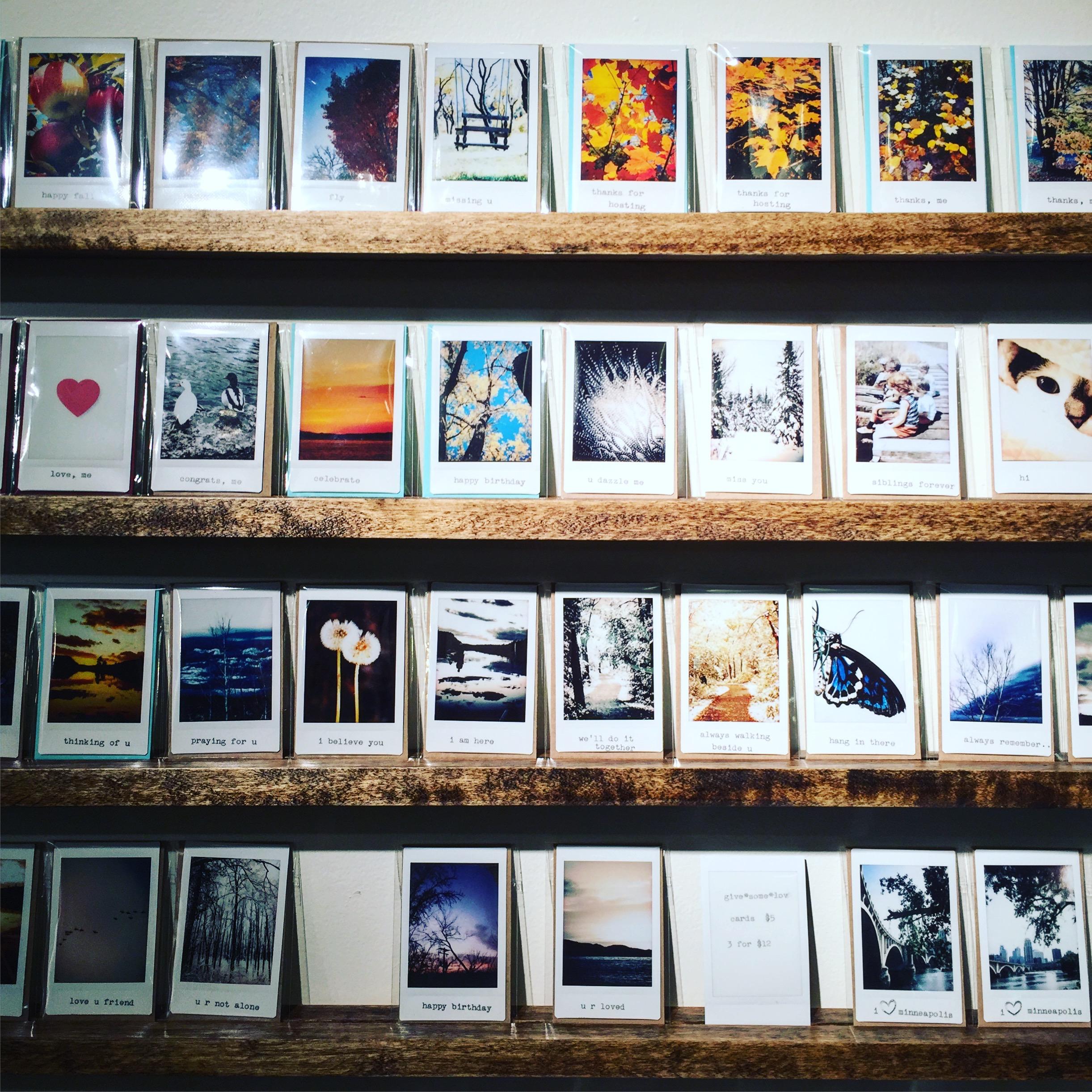 Custom Polaroid Cards